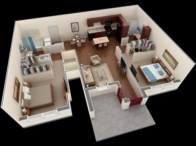 Apartment-Plan